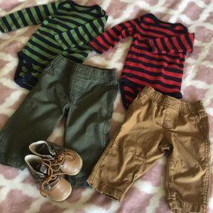 6/9month boys fall clothes bundle